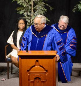 President Clancy Matriculation 2017