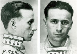 Fred Barker's mugshot