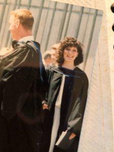 Lisa Cromer at graduation
